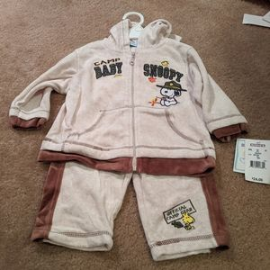 Camp baby Snoopy outfit